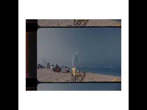 umm suqeim beach // dubai trip (super 16 cam app)