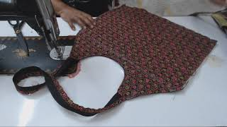 Gambar cover BEST OUT OF WASTE  BIG SIZE SHOPPING /TRAVEL BAG- TUTORIAL