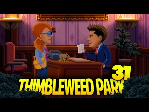 THIMBLEWEED PARK [031] - SCHECK THIS OUT!