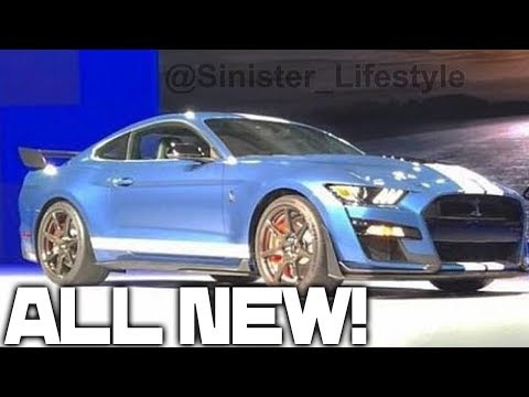 2020 Mustang SHELBY GT500 REVEALED!