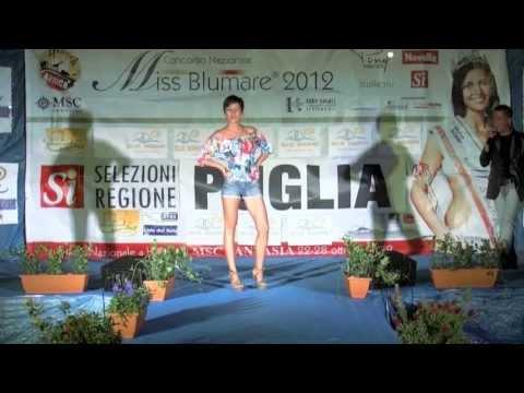 MISS BLUMARE 2012 Finale Regionale PUGLIA Rodi Garganico Residence Blue Marine Regia Umberto Rea