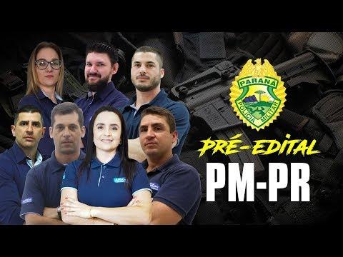 Aulão Pré Edital - Policia Militar do Paraná - Presencial Cascavel  AO VIVO - Alfacon