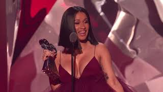 Cardi B Acceptance Speech Best New Artist 2018 iHeartRadio Music Awards.mp3