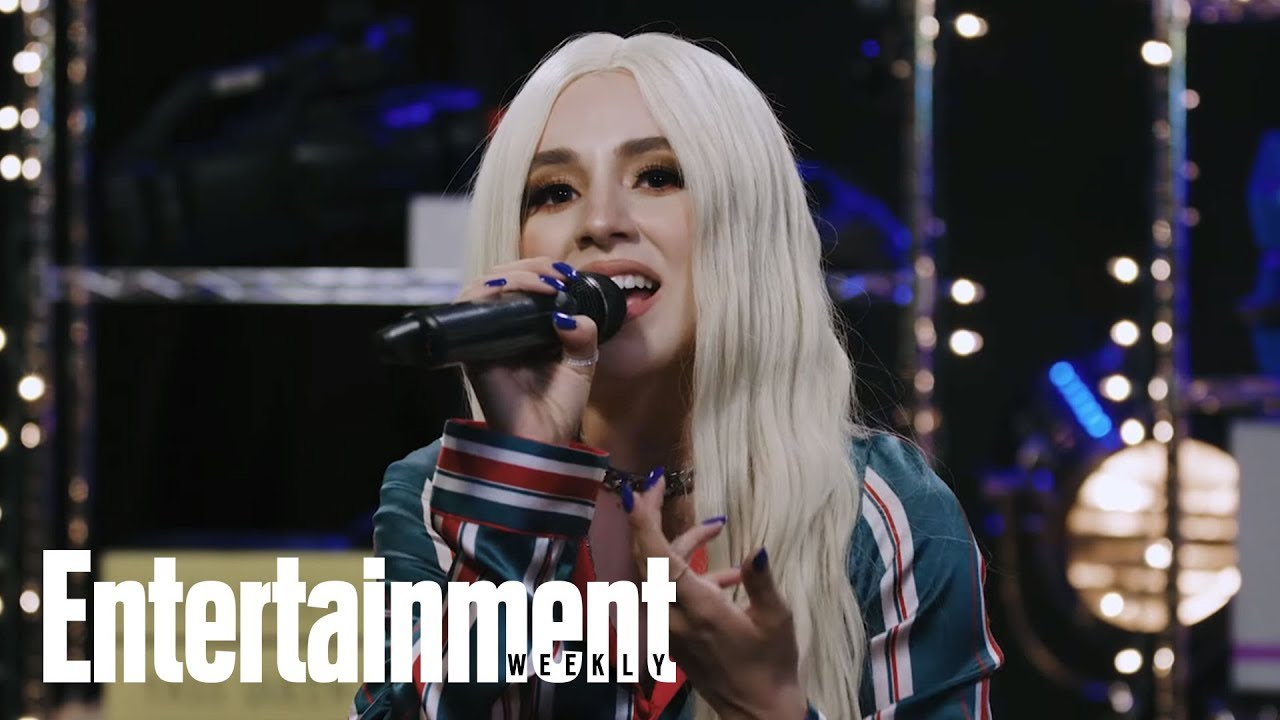 Ava Max Performs 'Sweet But Psycho' | In The Basement