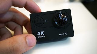 EKEN H9 4K Action Camera - Unboxing & Hands-on (Greek)