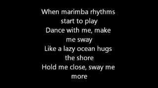michael buble sway lyrics اجمل اغنية اجنبية مع الكلمات