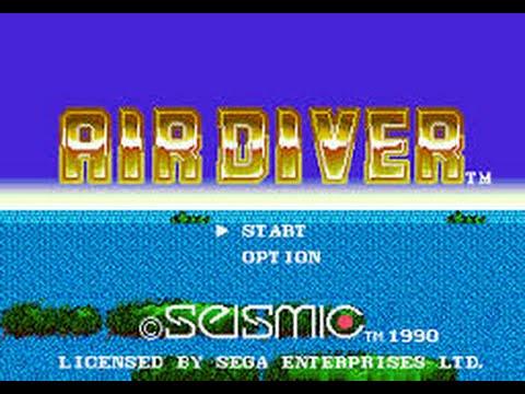 Mega Drive Longplay [409] Air Diver