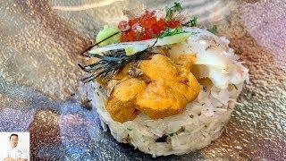 Stone Crab Uni Rice Cake   Joe