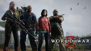 WORLD WAR Z All Cutscenes (Game Movie) Xbox One X Enhanced 1080p 60FPS