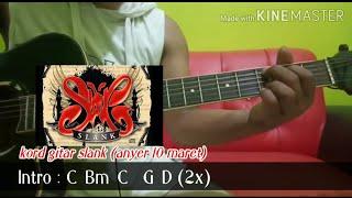 Slank - Anyer 10 Maret   Chord & Lyric