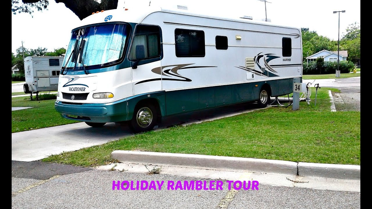 1999 Holiday Rambler Vacationer Motor Home For Sale