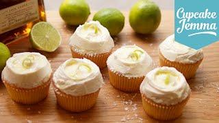 Margarita Cupcake Recipe | Cupcake Jemma