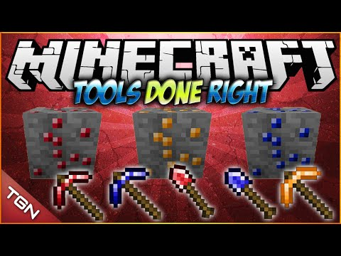 Minecraft 1.7.10 | Tools Done Right MOD | [ Mas Herramientas! ]