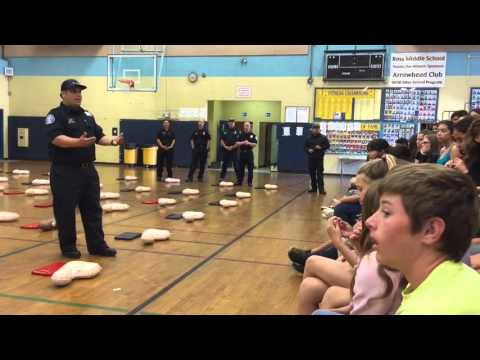 Hughson Students Learn To Save Lives