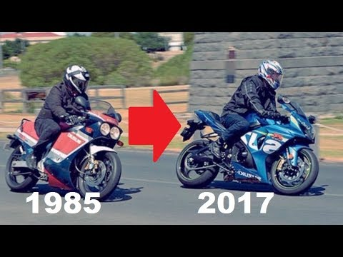 Suzuki GSX-R History (1985 - 2017) | Evolution of a SuperBik