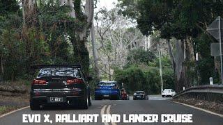 Evo, Ralliart And Lancer Meet And Mountain Cruise