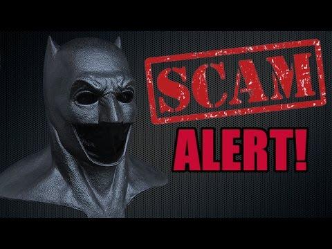 "Batsuit 2.0 Update: ""Mau5"" Batfleck Cowl- Scammer Alert!!"