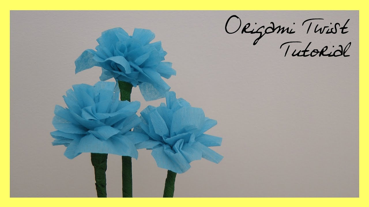 Beginner Crepe Paper Flowers Tutorial Youtube