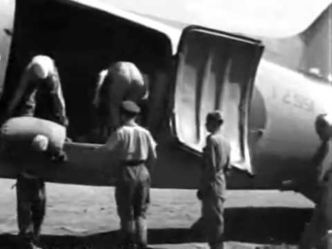 "No. 267 ""Pegasus"" Squadron RAF SEAC Dakota, Burma 1945"