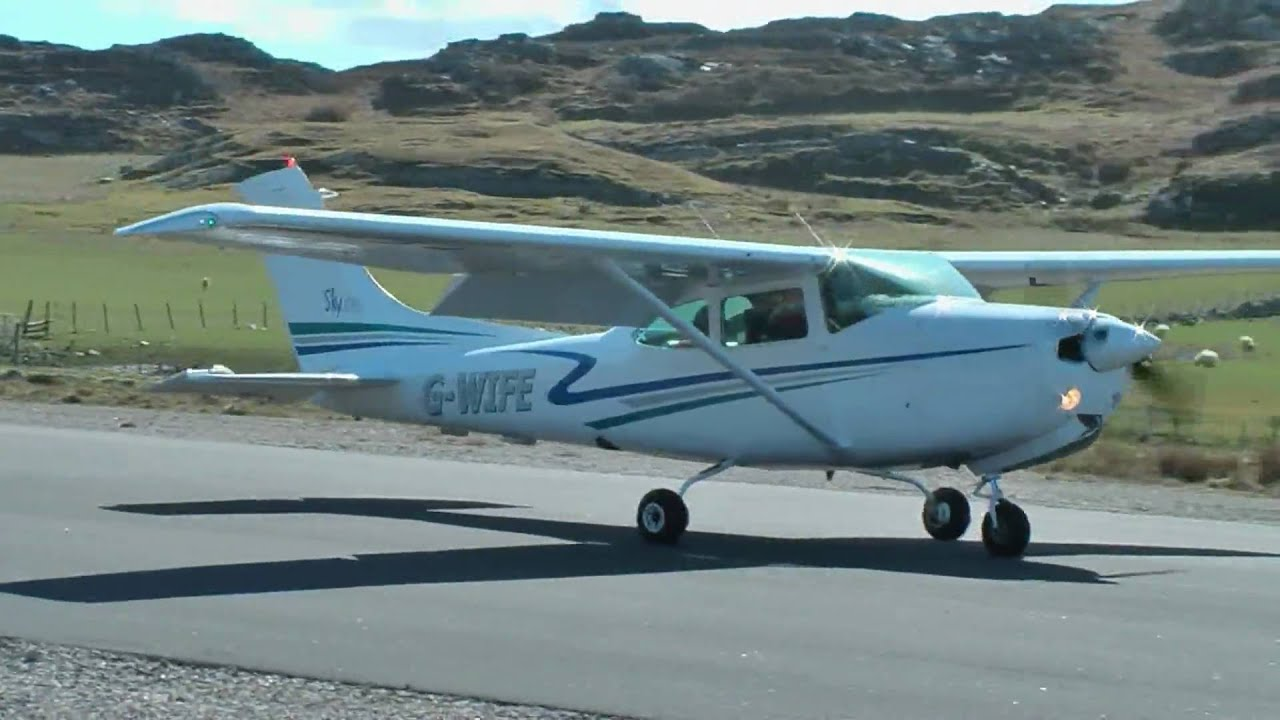 Cessna 182 G Wife Colonsay Spring 2009 Youtube