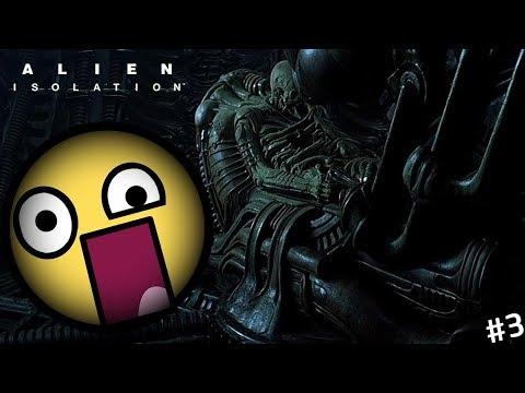 Találkoztam a space jockeyval!!! | Alien Isolation #3