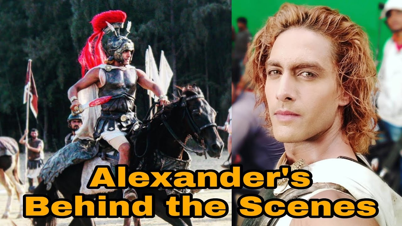 Alexander's Rohit Purohit Behind the scenes| Porus |2018 |LIGHTSIDE FACTS  by LIGHTSIDE FACTS
