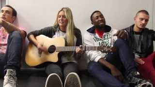 JAMIE MCDELL & special-guests Titanium + bow-chicka-wow-wow MASH-UP.