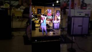 KARIN INK Cover Lagu Risalah Hati - Mahadewi. Performance At McDonald's Joglo