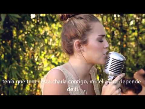 Miley Cyrus-The Backyard Sessions- . Jolene. Subtitulado ...