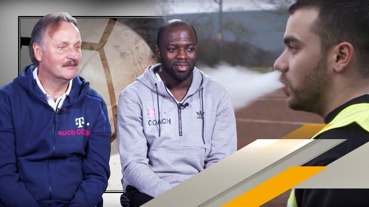 Hans Sarpei beim Dülkener FC 4 - Das T steht für Coach | SPORT1 - YouTube