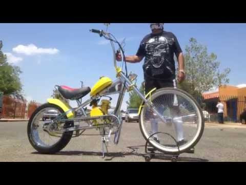 Gas Bike Motorized Chopper Bike By U Moto Youtube