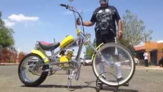 Gas Bike Motorized Chopper Bike By U-MOTO
