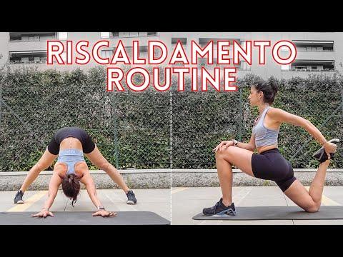RISCALDAMENTO/WARMUP ROUTINE - MOBILITA' ARTICOLARE, STRETCHING DINAMICO & STATICO | Silvia Fascians