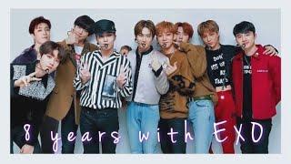Happy 8 years anniversary exo & exo-ls . 우리의 청춘 시대는 엑소라고 부른다 사랑하자 엑소 8주년 축하해 funny moments, being exo, eng subs, sehun, suho, xiumin, chen, y...