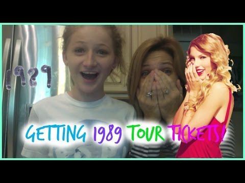 Getting Taylor Swift 1989 Tour Tickets.