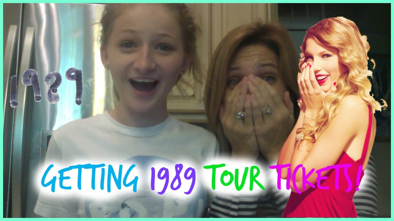 Getting taylor swift 1989 tour tickets youtube kristyandbryce Gallery