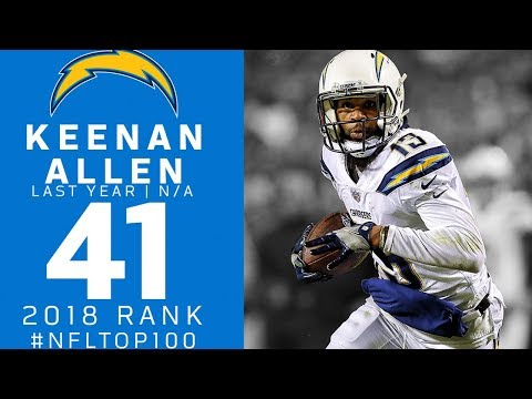#41: Keenan Allen (WR, Chargers) | Top 100 Players of 2018 | NFL