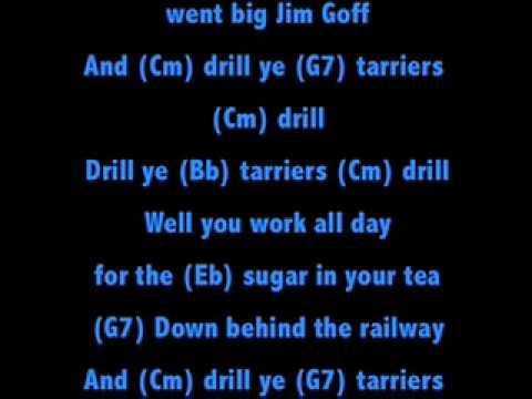 Drill Ye Tarriers Drill