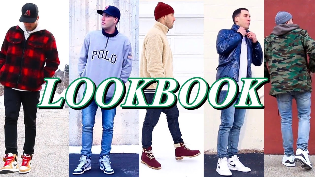 SNEAKERHEAD LOOKBOOK - HOW TO STYLE CASUAL OUTFITS - NIKE - JORDAN - TIMBERLAND - ADIDAS 5
