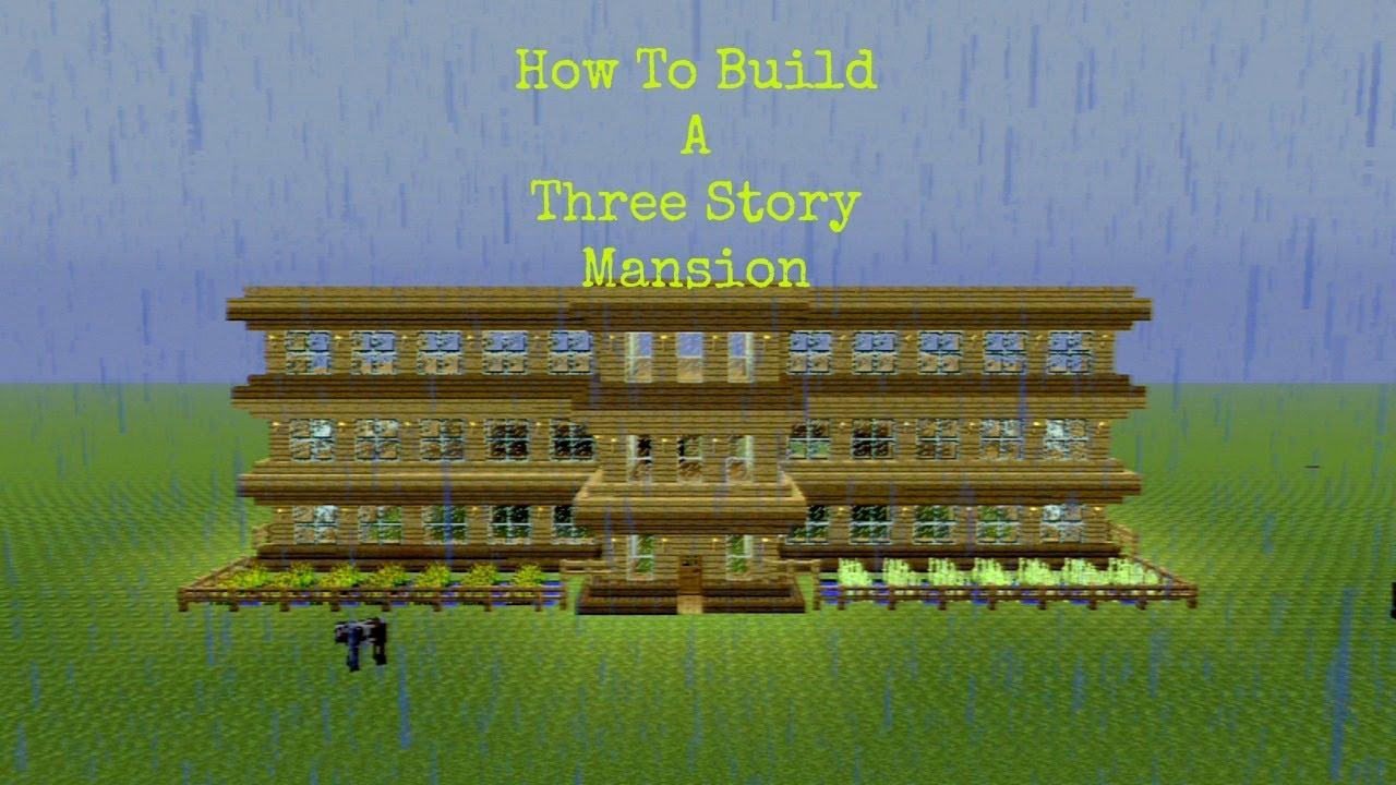 Minecraft Lets Build Mansions