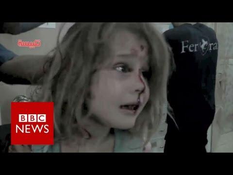 "Aleppo: ""Where is my dad?""- BBC News"