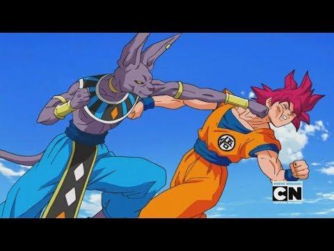 Goku Super Saiyajin Dios VS Bills l Dragon Ball Super Latino HD