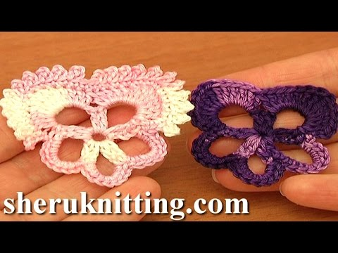 Pansy Flower Easy Crochet Tutorial 83 Free Crochet Flower Patterns ...