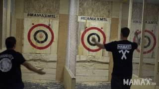 Axe Throwing League - Double Reverse Bonus! Wow!