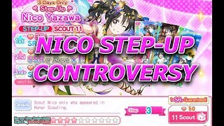 The Nico Birthday Step-Up Box Controversy