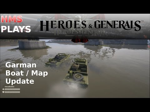 Gunboats up the Yangtze - Floating Tanks & Cars in Heroes & Generals Garman Update