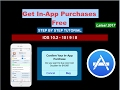 (No Pc) In-App Offline Game Purchase Free Hack On iOS | Latest 2017