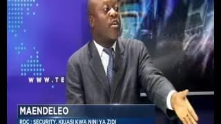 RDC:SECURITY, KIUASI KWA NINI YA ZIDI THIERRY MUKELEKELE A NA JIBU