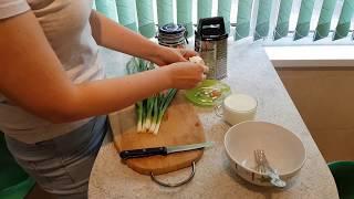 Рецепт: самый простой диетический белый соус к мясу