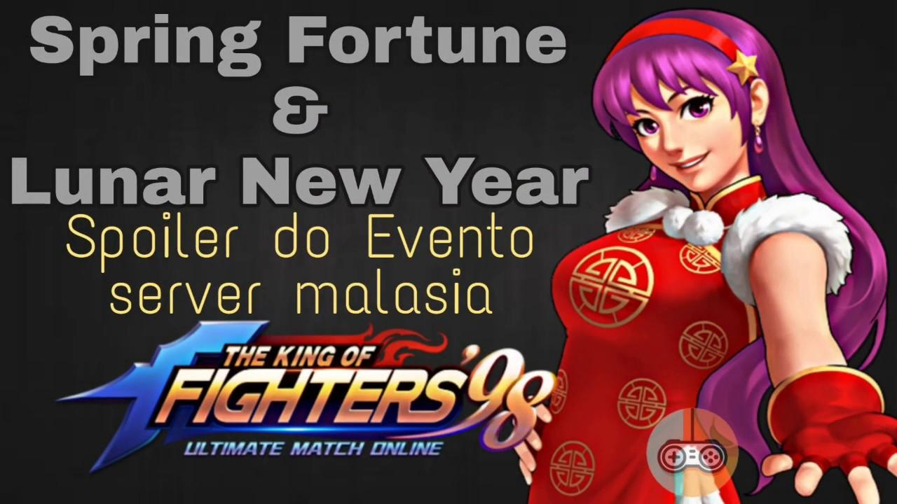 KoF98 UM OL - SPOILER Spring Fortune & Lunar New Year ...